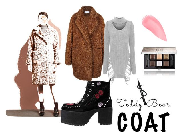 """#teddybearcoats"" by rawal-sadhana on Polyvore featuring WearAll, T.U.K., Kevyn Aucoin, Givenchy and teddybearcoats"
