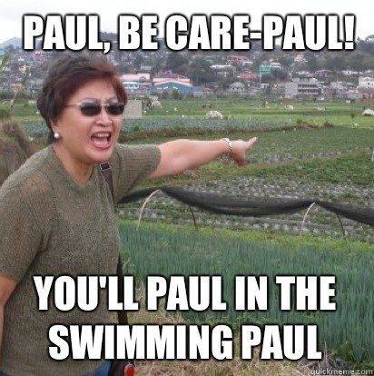 On cautionary measures: | 29 Puntastic Jokes That Only Pinoys Will Understand