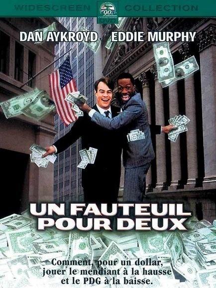 Un Fauteuil pour deux / Trading places - 1983 - directed by : John Landis - cast : Dan Aykroyd, Eddie Murphy, Jamie Lee Curtis