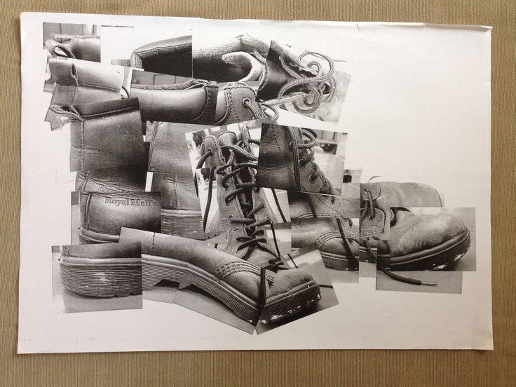 Elizabeth Adams's Art Site: Advanced Art Work |David Hockney Joiner Project