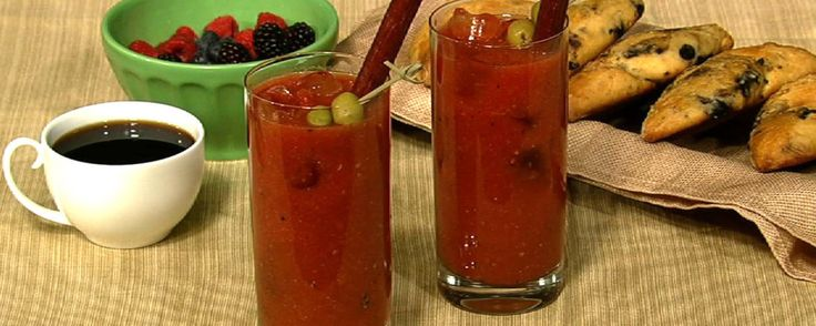 No drink goes better with breakfast than a Bloody Mary!BLOODY MARY 1/2 cup Tomato Juice 2 oz Vodka/Gin/Tequila 1/2 teaspoon Horseradish Dash Hot Sauce/Siracha! Dash Worcestershire Juice of 1 Lemon Freshly Cracked Pepper (to taste)  Salt Rims (paprika, classic, spicy, old bay...)  Green Olives Cucumber Spears Bacon Pickled Jalapeños Pickled Beets Celery Beef Jerky etc.