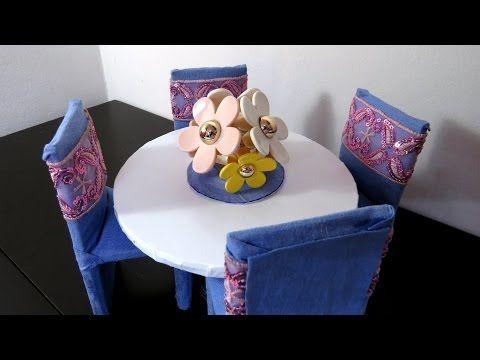 Cadeirinha de Reciclagem de Caixa de Leite para bonecas - YouTube