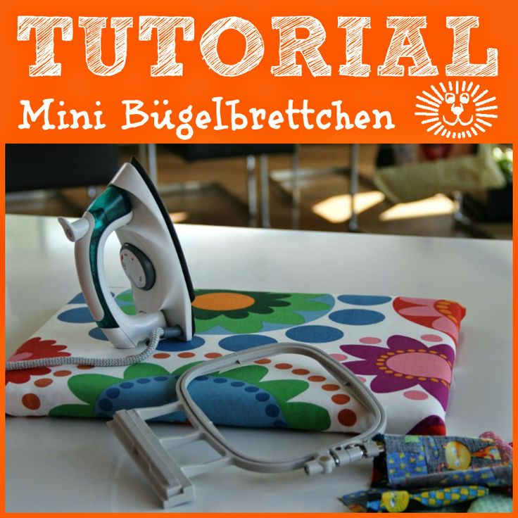 Mini Bügelbrett ... mini ironing board
