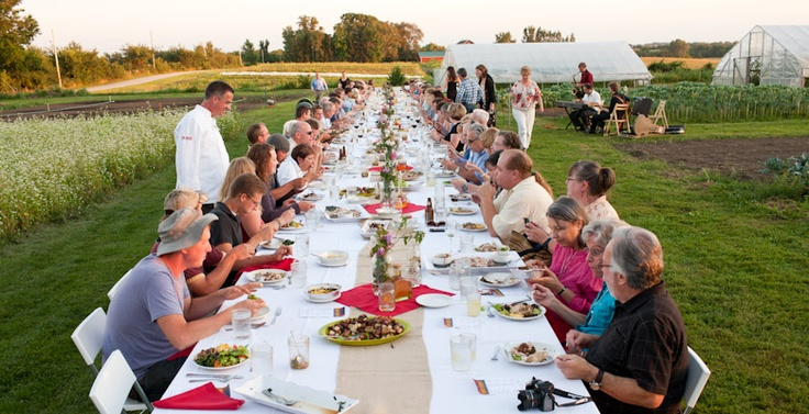 So excited for our Farm Dinner at Angelic Farms in August
