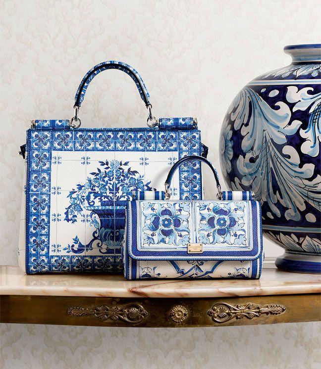 Dolce & Gabbana : Bleu Majolique.