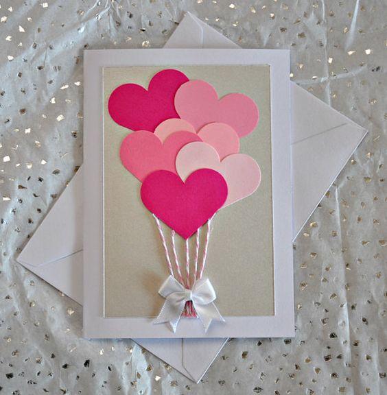 Best 25 Valentine Day Cards ideas – Valentines Handmade Card