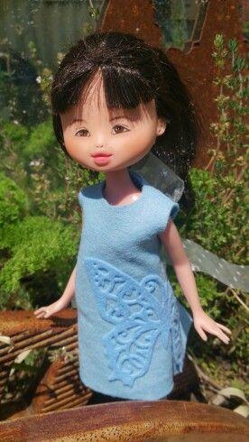 Kislany Rescue Dolls OOAK Bespoke Bratz upcycled made-under custom repaint handmade clothes