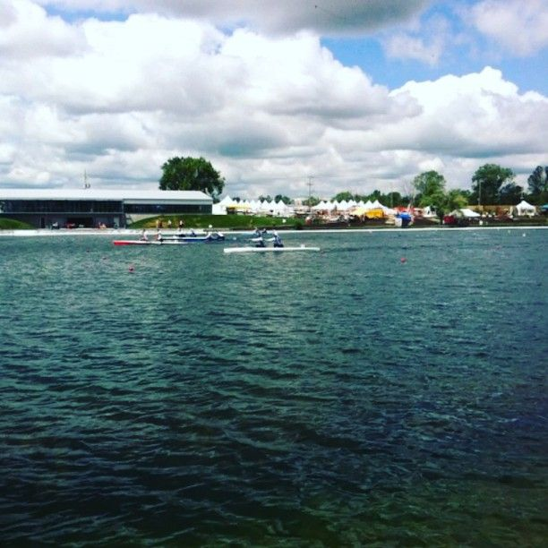 Off to the races at the Welland International Flatwater Centre