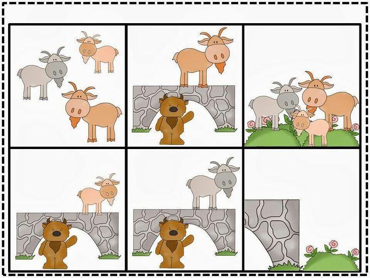 3 Billy Goats Gruff - sequence