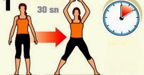 10 dakikanızı ayırarak bu Süper hareketlerle harika bir formunuz olacak...