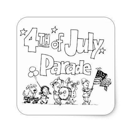 4th Of July Parade Stickers - independence day 4th of july holiday usa patriot fourth of july