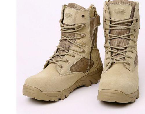 Delta-Male-Combat-Shoes-Men-039-s-Tactical-Boots-Desert-Boots-For-Military-Enthusias