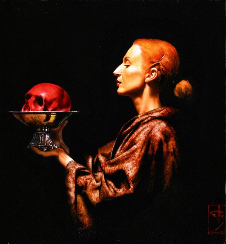 Saturno Buttò is a venetian painter, born in may 1957. His work is characterized by a personal, formal interpretation of European sacred art and technical skill, that reminds one of the great masters of classical art, combining eroticism , horror, religion , sadomasochism, dreams and objects related to medicine.