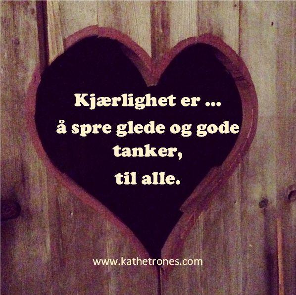 Kjærlighet er ...