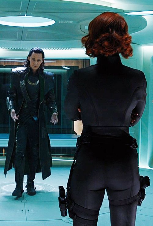 Back Of Black Widow Suit  Black Widow, Black, Loki-5673