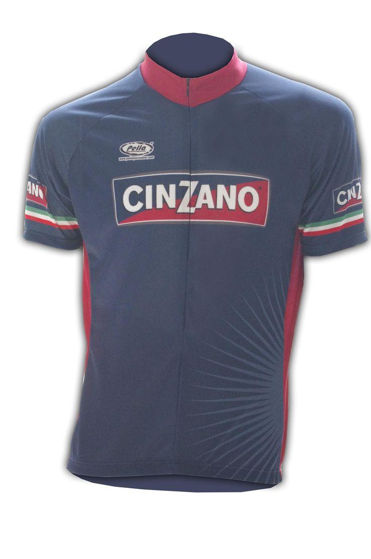Maglia Ciclismo Manica Corta Cinzano - Store For Cycling