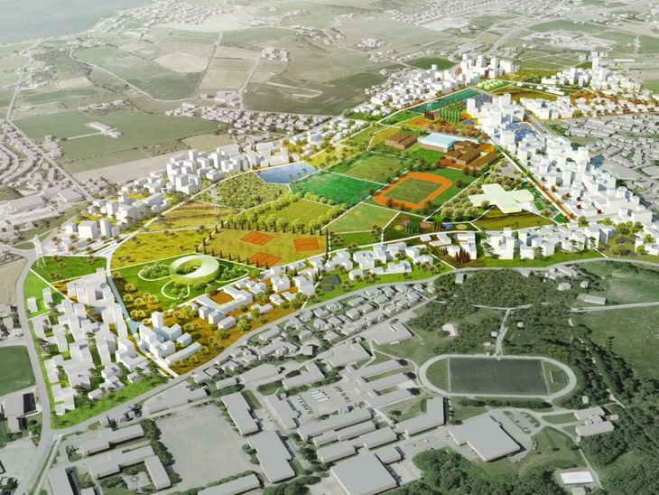 New Masterplan for Madla-Revheim by MVRDV