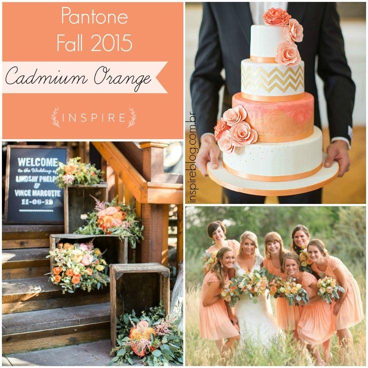 pantone fall 2015 decoracao casamento cadmium orange inspire mfvc-1