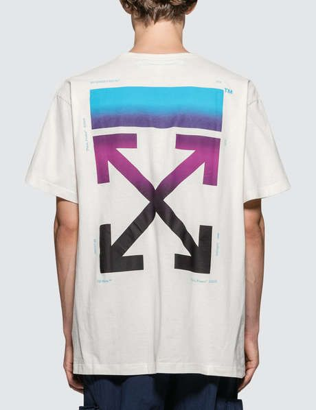 9a43b106 Off-White Gradient S/S/ Over T-Shirt | crewnecks | Off white, White ...