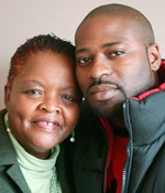 Mary Johnson has not only forgiven her son's murderer, but loves him and embraces him (literally and emotionally) as if he were a second son.  Their story is amazing; her courage is truly inspiring.