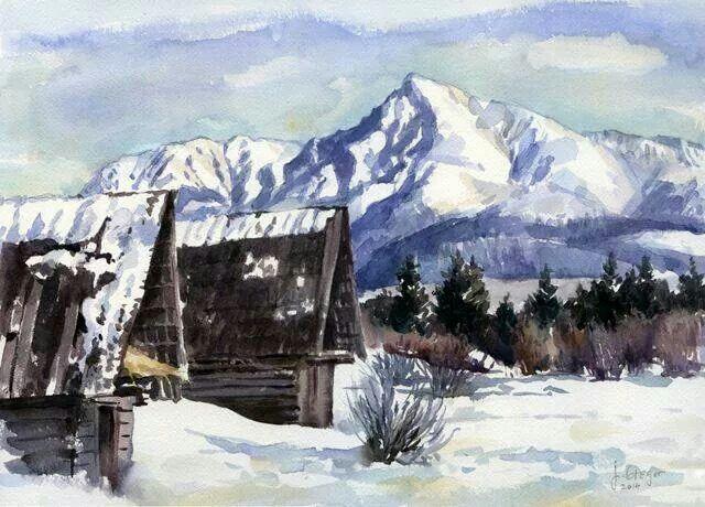 Krivan watercolor