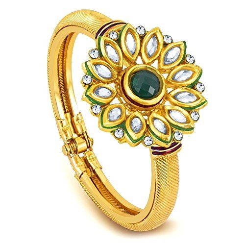 Green Stone Bollywood Style Gold Plated Party Wear Bangle... https://www.amazon.ca/dp/B01N4WJVZH/ref=cm_sw_r_pi_dp_x_QjsPybH4872A5