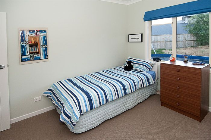 Resene Half Thorndon Cream in boy's bedroom