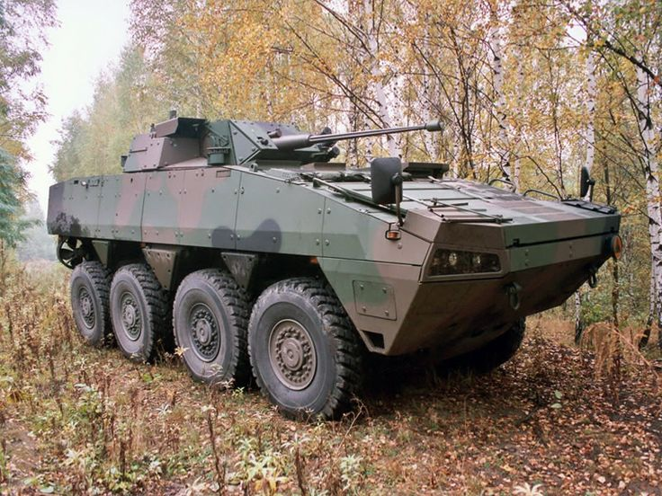 Patria AMV 8x8 with OTO Melara Hitfist '2004–pr.