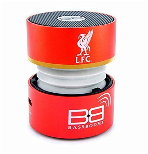 Deals week  BassBuds Liverpool Football Club Portable Bluetooth Speaker Best Selling