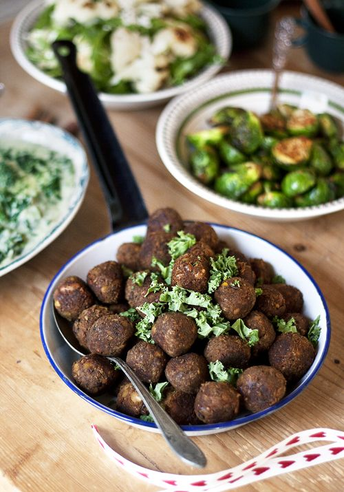 Vegetarian meatballs - Just as tasty as the meaty ones