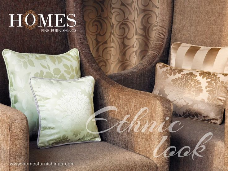 Add a new look, add a new story with #EthnicCollection from #Homes. Explore more on www.homesfurnishings.com #HomeFabrics #Cushions #Upholstery #Furnishings #FineFabric #HomesFurnishings #SaturdaySwag