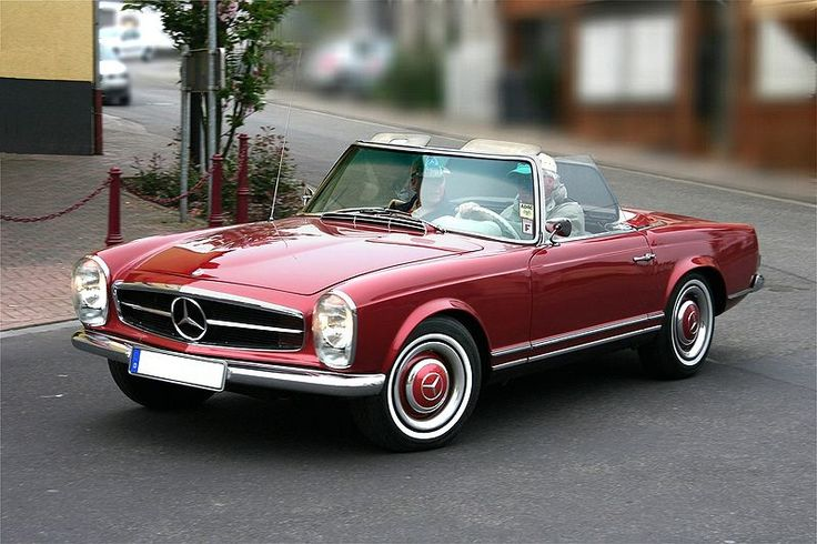 Mercedes 250SL - Sure the gullwings are more desirable, but I'll actually be able to afford this