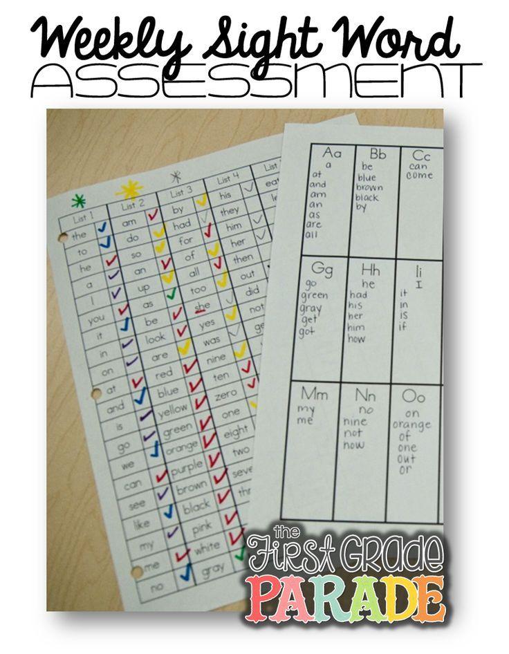 Sight Words!!! (Assessment, Activities, Ideas, & FREEBIES!)