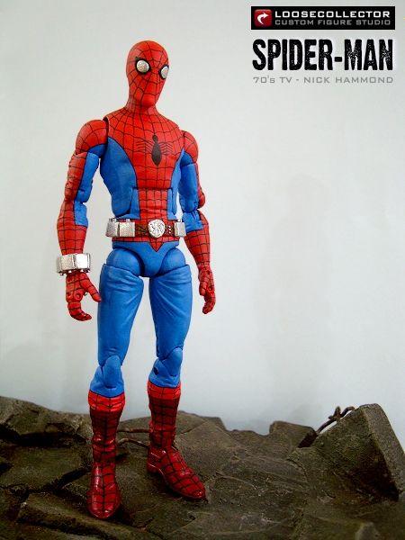 Loosecollector Custom Action Figures Official Website: Spider-Man : 70's TV Series (Nicholas Hammond)