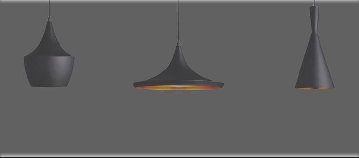 Serie van 3 hanglampen mooi voor boven de eettafel