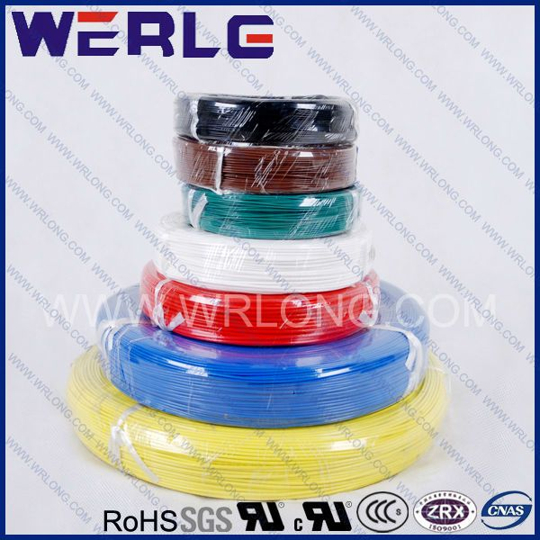 UL 1015 electric  105 degrees pvc wire  standard UL 758  pvc insulated  rated voltage:600V  rated temperature:105