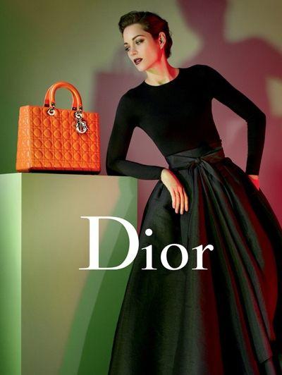 Marion Cotillard voor Lady Dior, foto: Jean-Baptiste Mondino