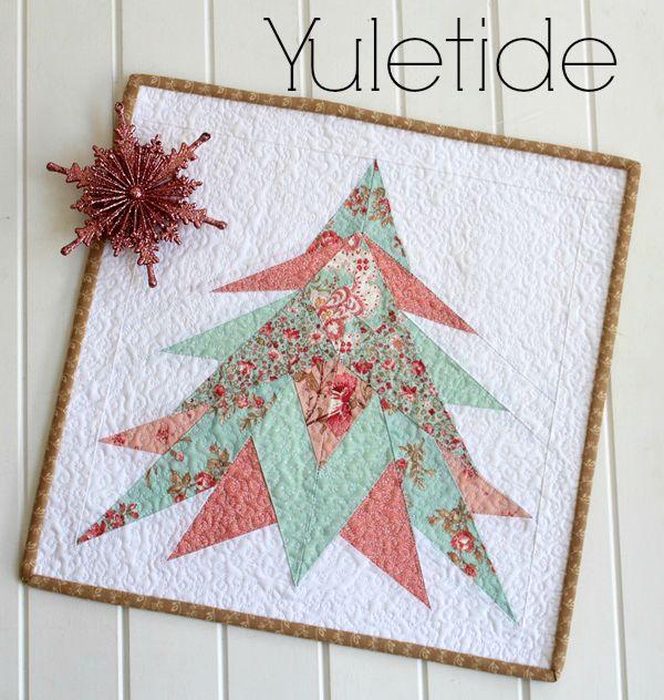 Threadbare Creations- Yuletide Mini Quilt PDF Pattern