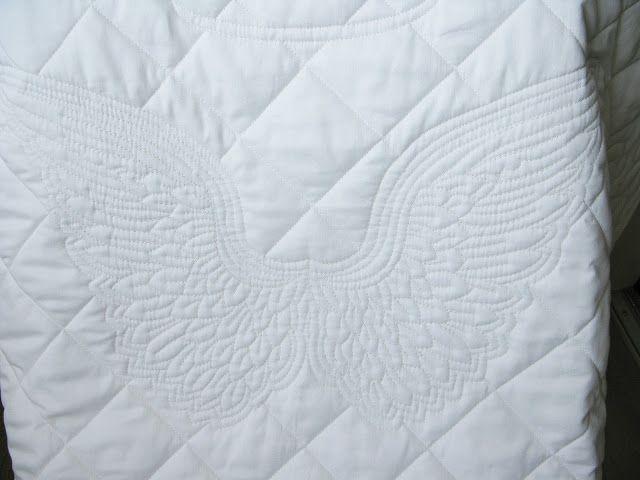 Cotton art: Крылья ангела