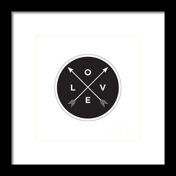 Love Framed Print By Lerna Chadwick