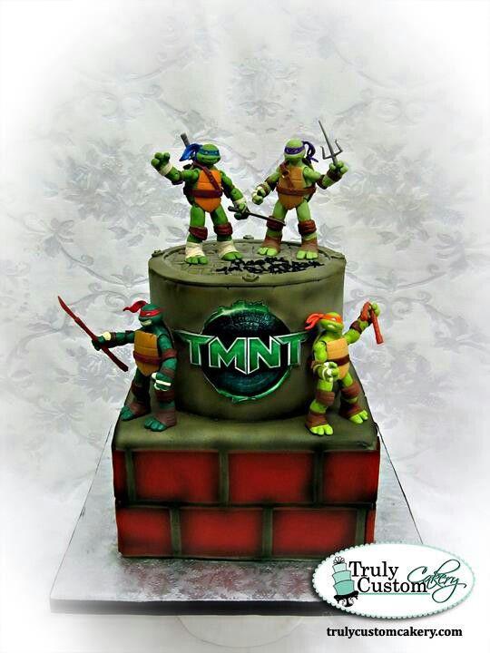 Tmnt ninga turtle cake