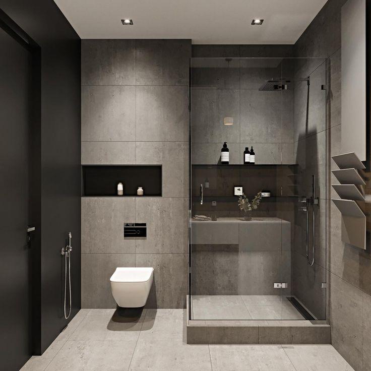 Three Modern Apartments A Trio Of Stunning Spaces: Modern Toilet Design, Modern Toilet And Toilet Ideas