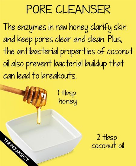 Homemade Honey Cleanser for Clear, soft skin