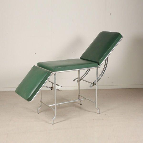 Vintage medical bed