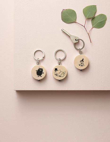 Aarikka Moomin key rings: Moomin key rings