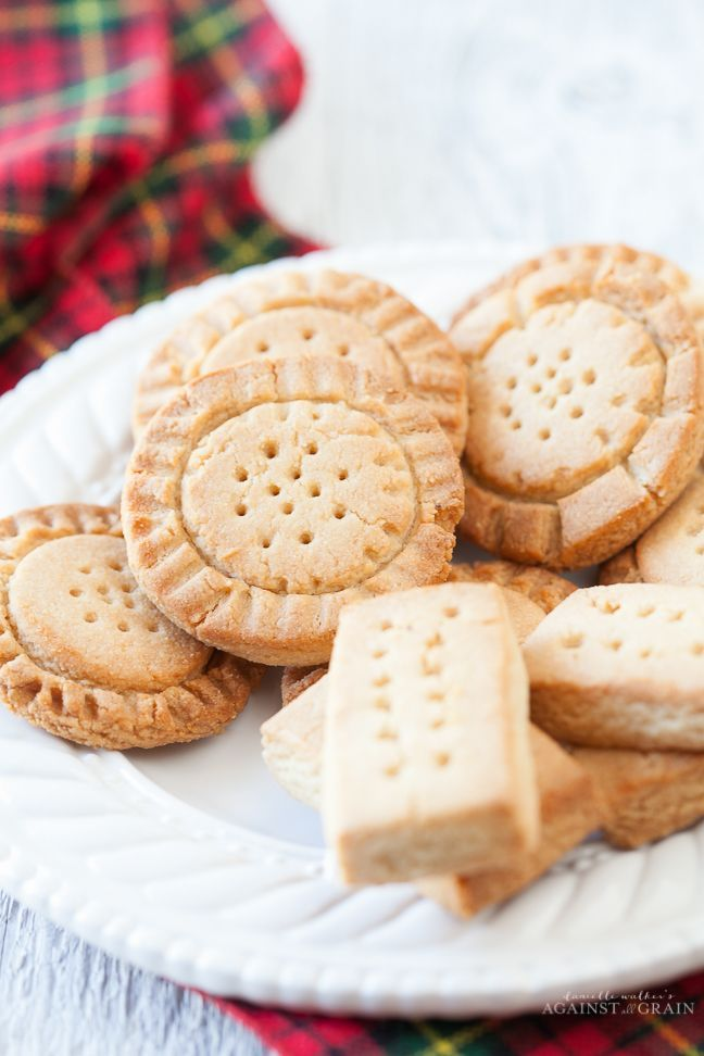 Shortbread Cookies - Against All Grain | Against All Grain - Delectable paleo recipes to eat & feel great
