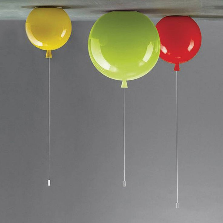Really cool lights for a kids bedroom!  memory balloon ceiling light by john moncrieff | notonthehighstreet.com