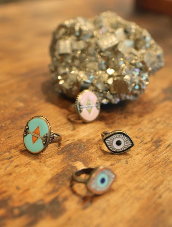 literally can't wait for these dream collective evil eye rings to be released... ahem @Alexandra Constantine + @Debra Constantine