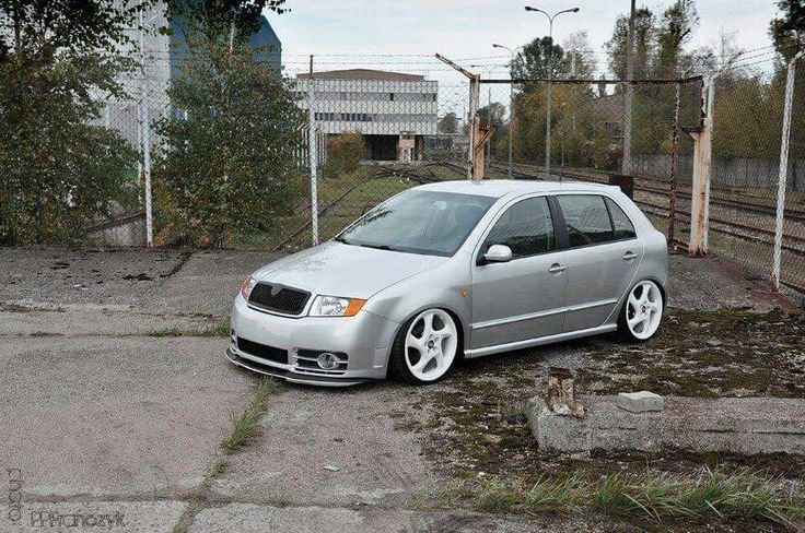 Fabia Vrs on Porsche wheels