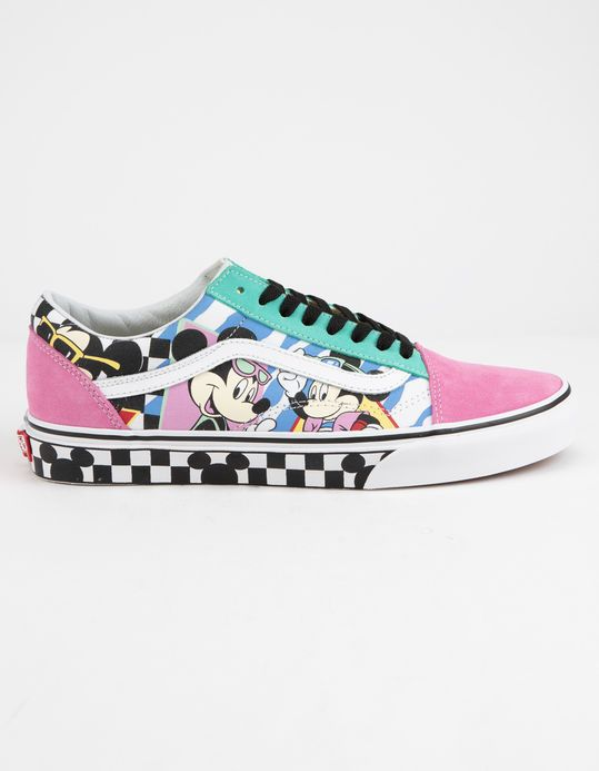 0e5b82ce DISNEY x Vans 80's Mickey Old Skool Shoes Multi color VN0A38G1UJE #fashion  #clothing #